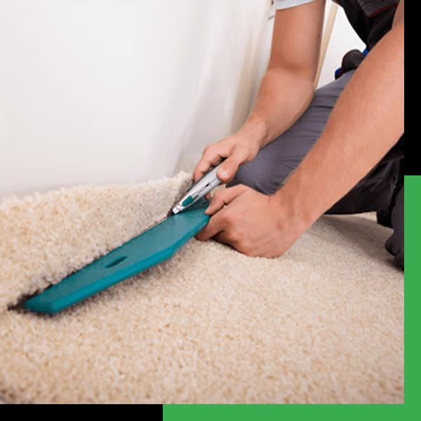 stretching carpets